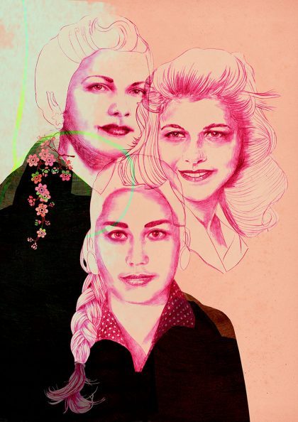 Birgit Lang, Starke Frauen, daring women, Schwestern Mirabal, mirabal sisters